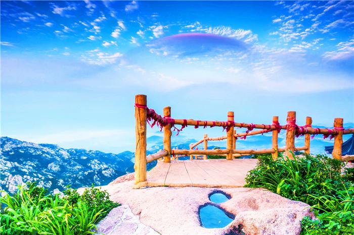 青岛崂山仰口风景区1日巴士游[青山村,八水河]市内免费接送、赠送水准零点、悦享慢游