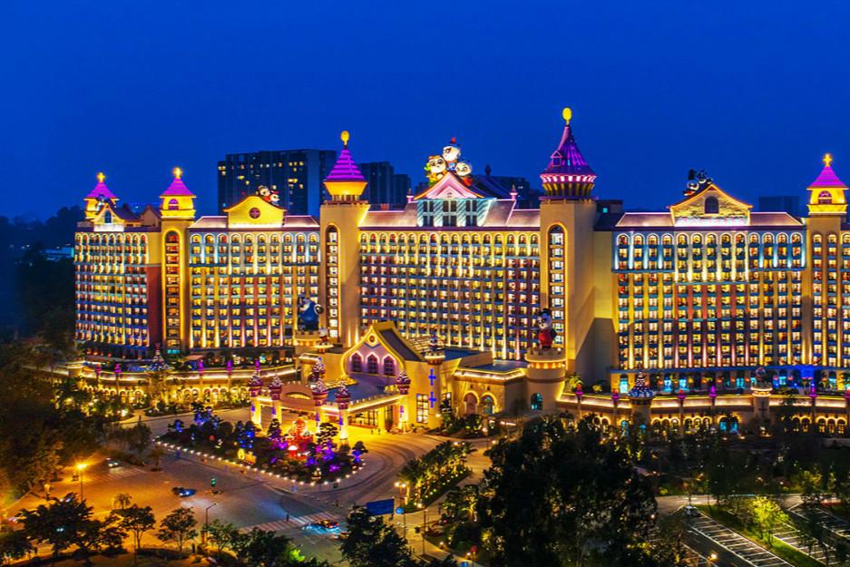 广州长隆熊猫酒店自助餐厅