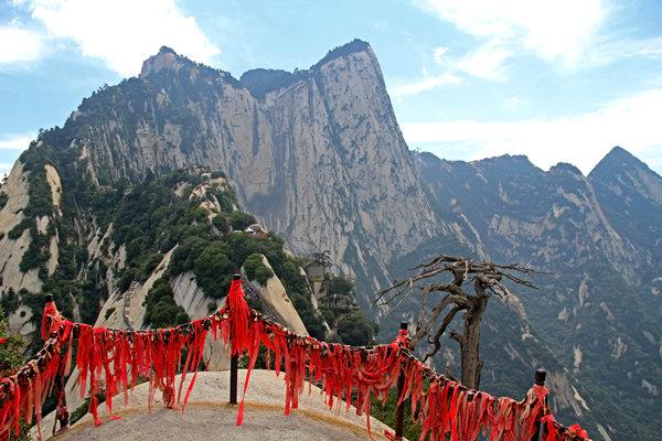 皇城观光华山1日大巴跟团游赠手套 赠祈福丝带 赠登山营养餐 赠登山地图