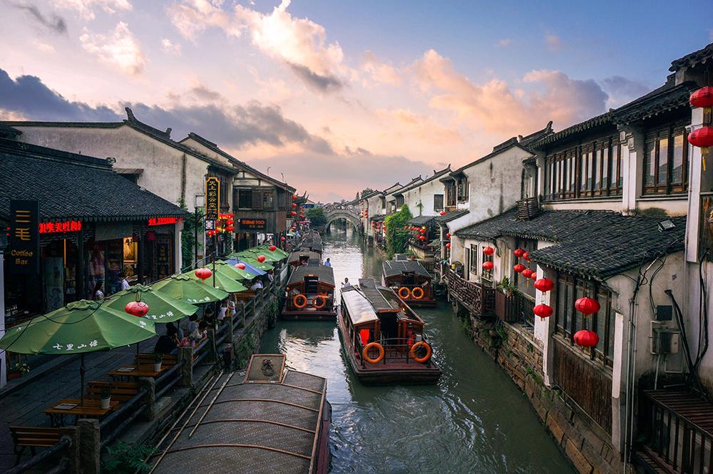 春节 狮子林、寒山寺、七里山塘、虎丘1日大巴跟团游[纯玩无购物]购游船赠评弹