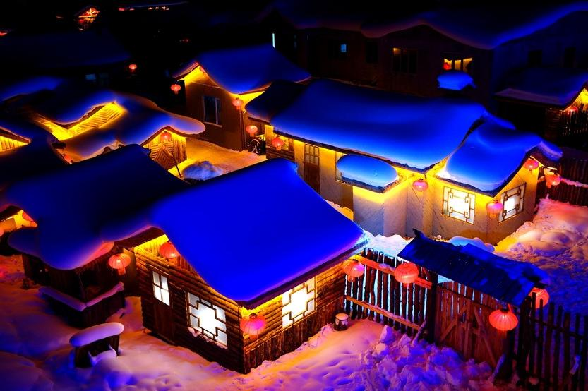 哈尔滨,雪乡,吉林,冬捕,雾淞,圣鑫,滑雪巴士5日当地游全新线路升级、雪乡双人包炕、保证品质、温泉SPA、赠送暖心大礼包,0购物,无强销