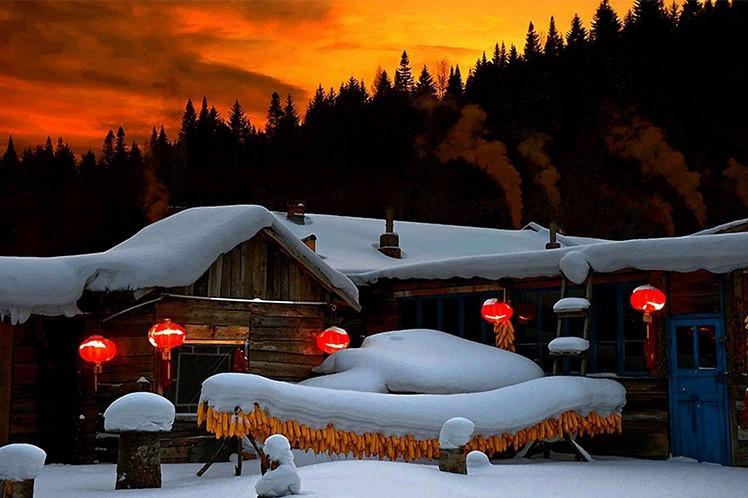 沈阳、长白山、雪乡、滑雪、哈尔滨高铁7日跟团游经典线路、不走回头路、保证品质、赠送1晚温泉度假酒店