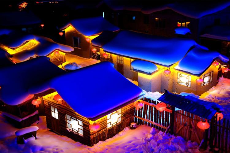 哈尔滨、雪乡、冬捕、雾淞滑雪、沈阳高铁5日跟团游全新线路升级、全程无购物、保证品质、赠送暖心大礼包