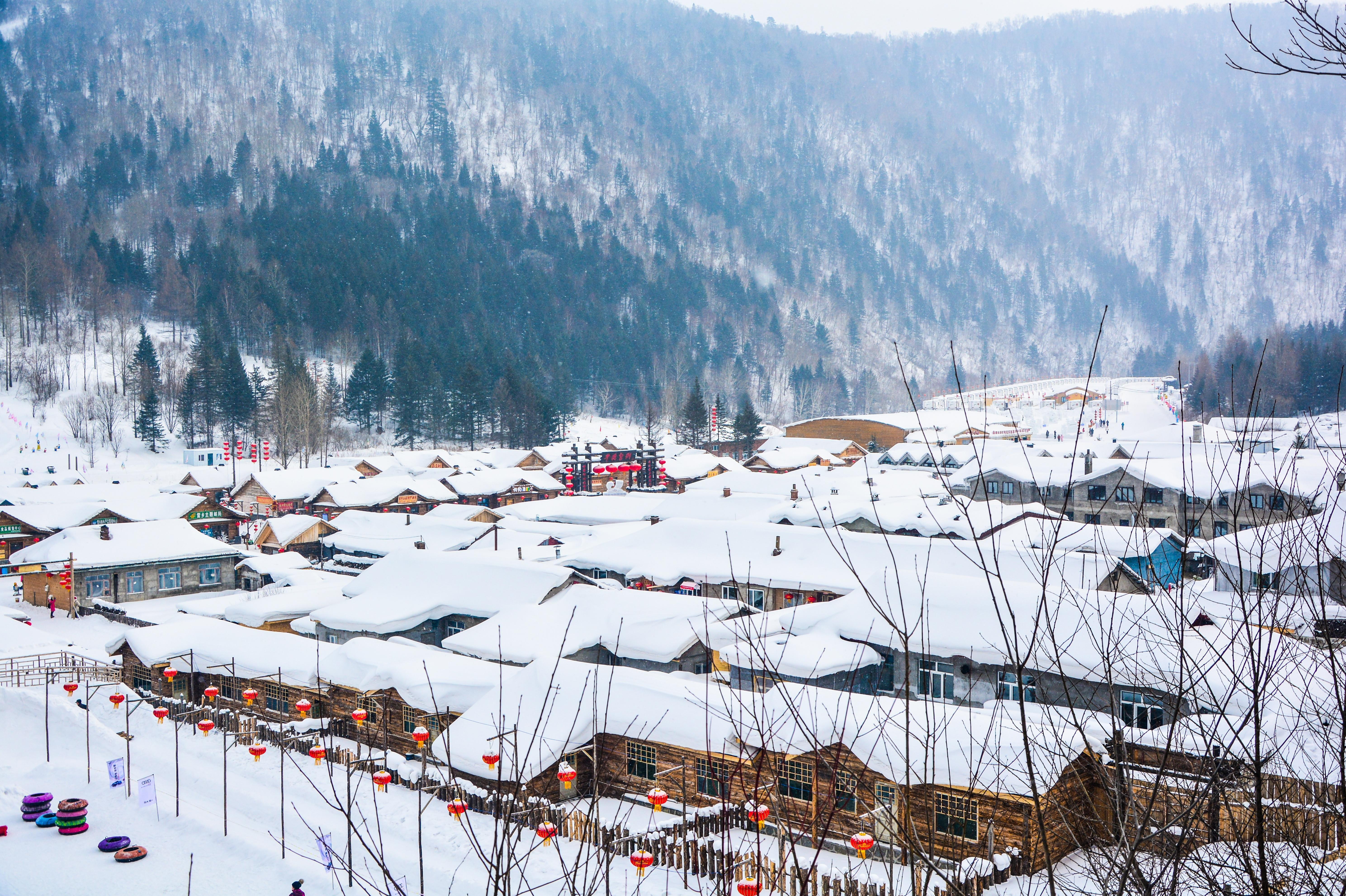 哈尔滨、雪乡半自助落地巴士4日当地游每团30人封顶,1晚雪乡双人暖炕,小火锅,铁锅炖,影视城,棒槌山夜景,雪乡嗨皮