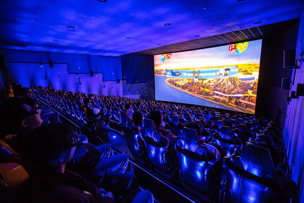 上海海昌海洋公园超感4D影院