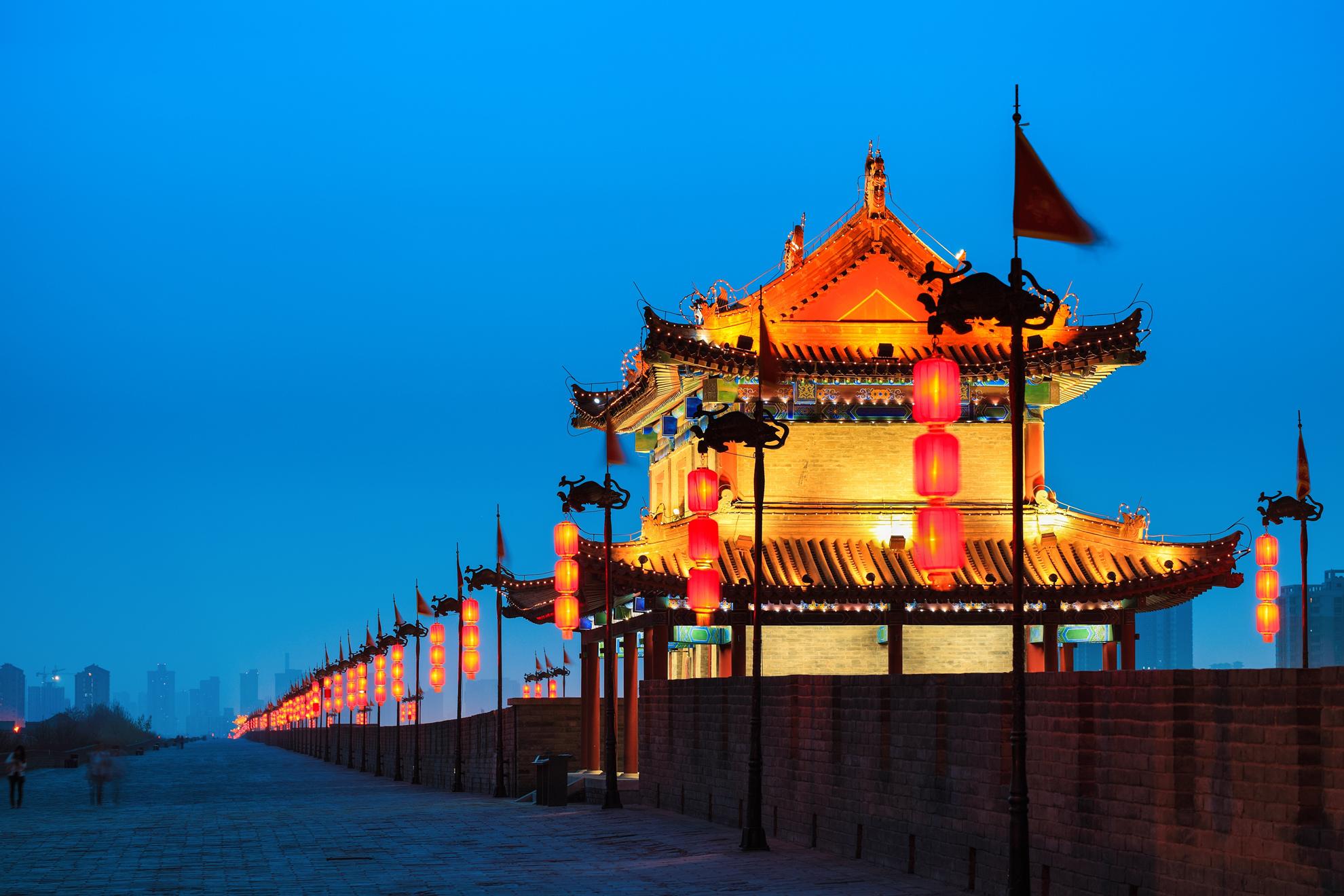 西安城墙景区登古城墙、导游讲解半日当地游导游统一办理门票入园,无需自行排队