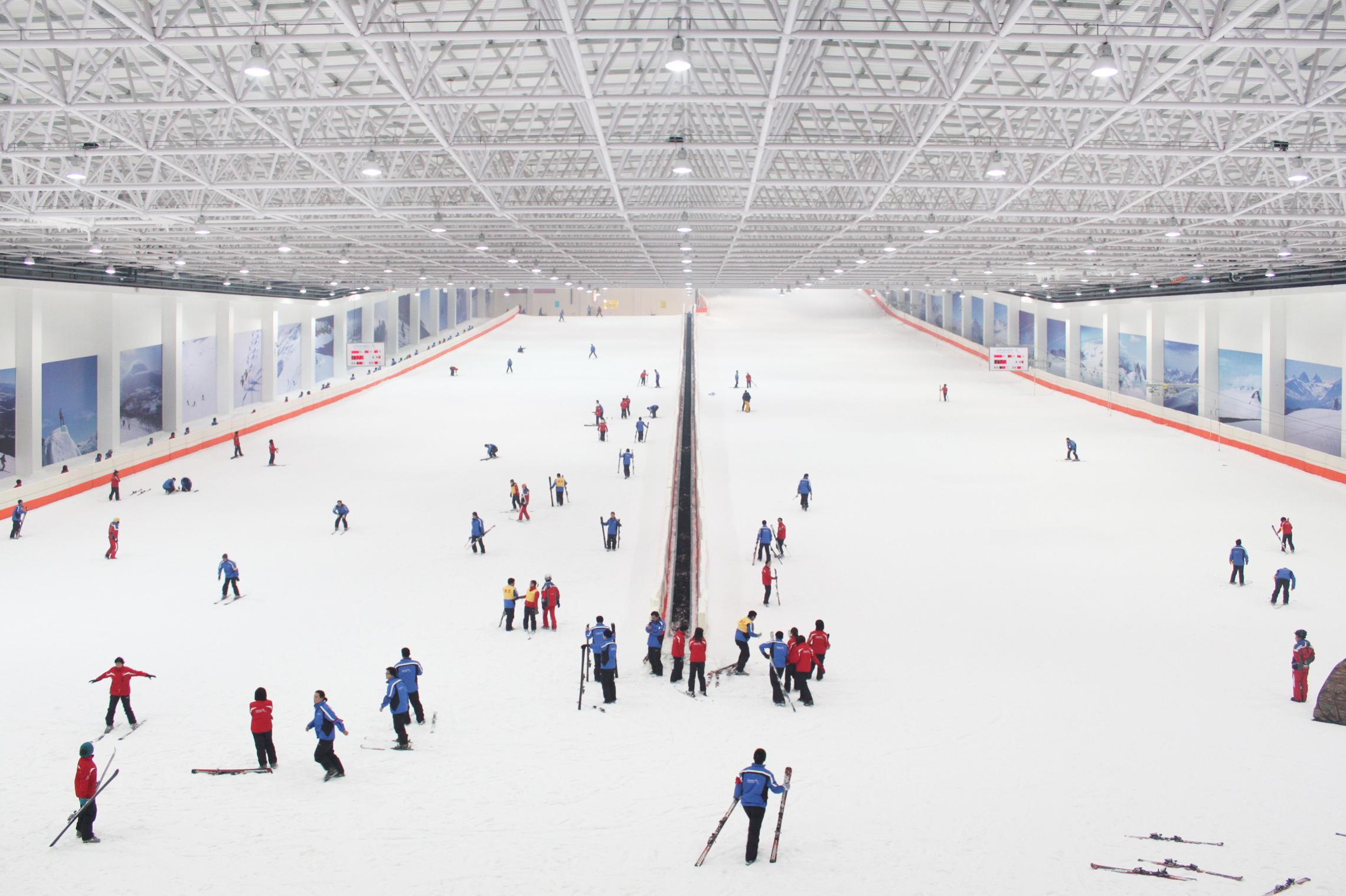 『诗画浙江,家庭亲子』绍兴乔波冰雪世界滑雪1日品质游