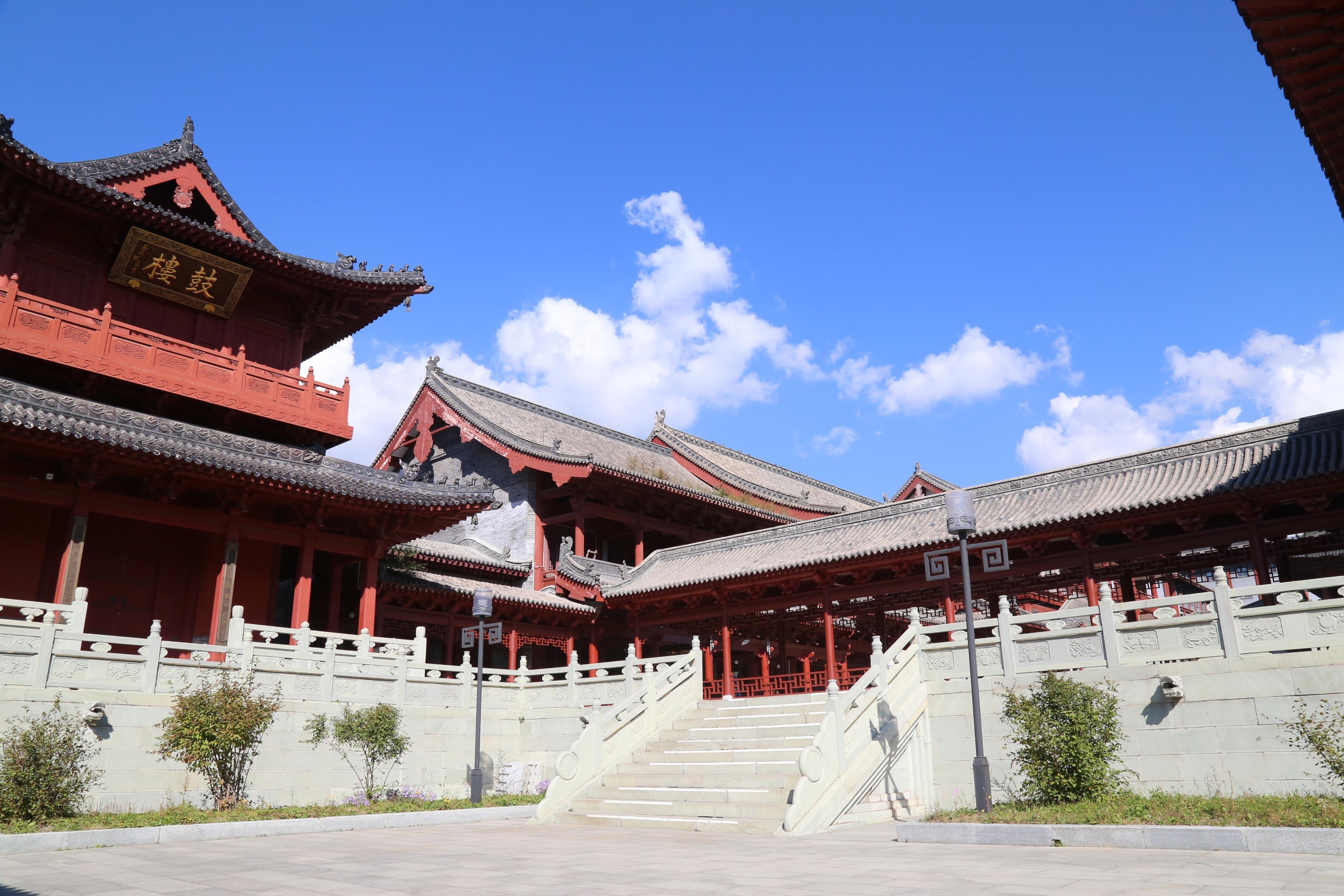 天津五台山2日巴士跟团游[赠祈福酥油灯]八大寺庙·拜五爷·登小朝台·祈福纳智·避霾圣地·明清古镇