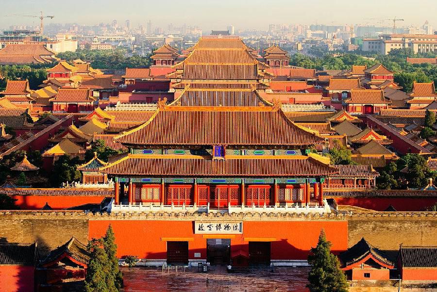天安门广场,毛主席纪念堂,国家博物馆,故宫纯玩巴士1日当地游纯玩无购物