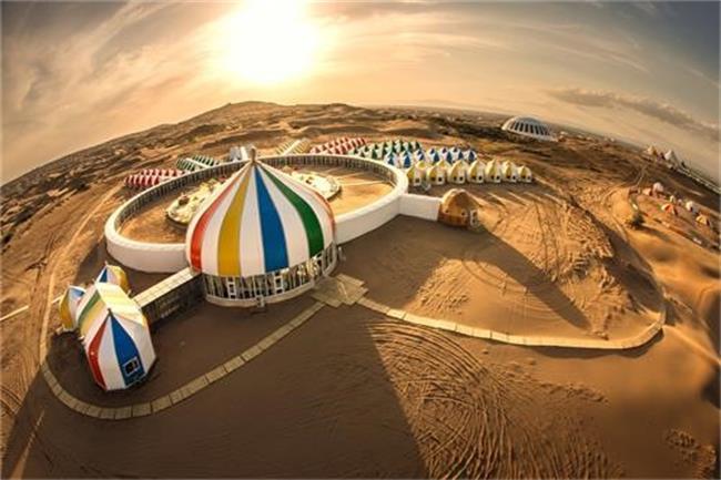 希拉穆仁草原、响沙湾双飞5日跟团游[东航直飞包头黄金航班、升级2晚香格里拉]一车一导、草原、沙漠、恒温水世界畅玩,美食体验
