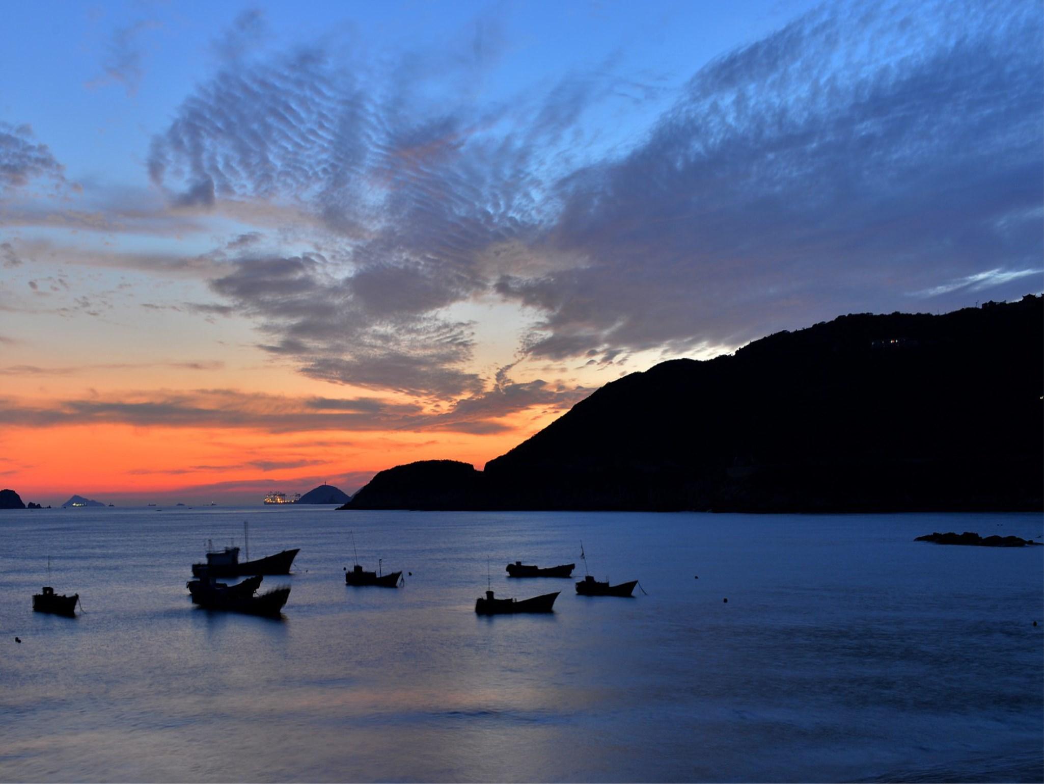 蓝色嵊泗沙滩漫步大巴2日1晚半自助跟团游