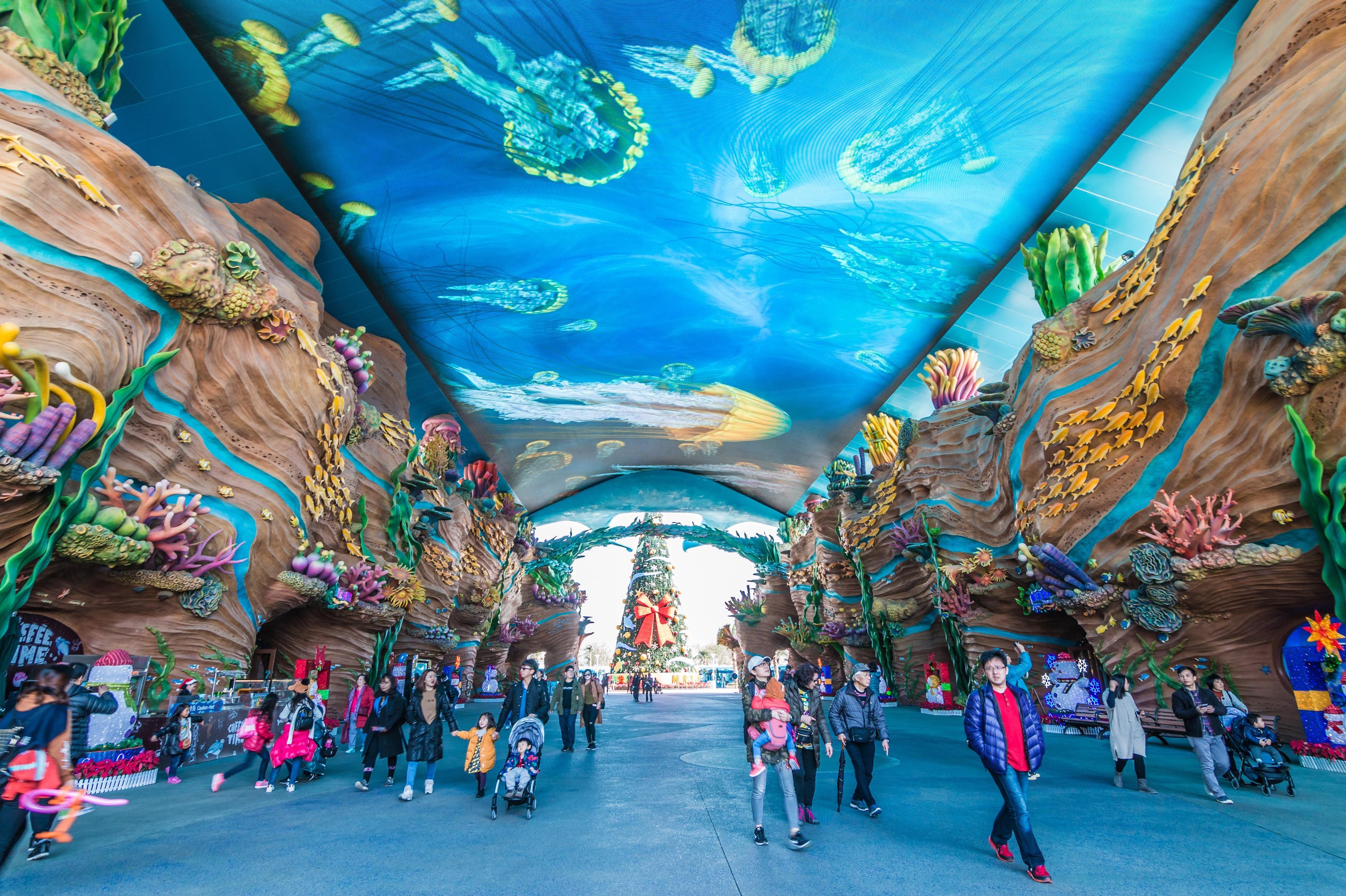 广东珠海-广州5日双飞跟团游[五一]海洋王国、野生动物园、欢乐世界