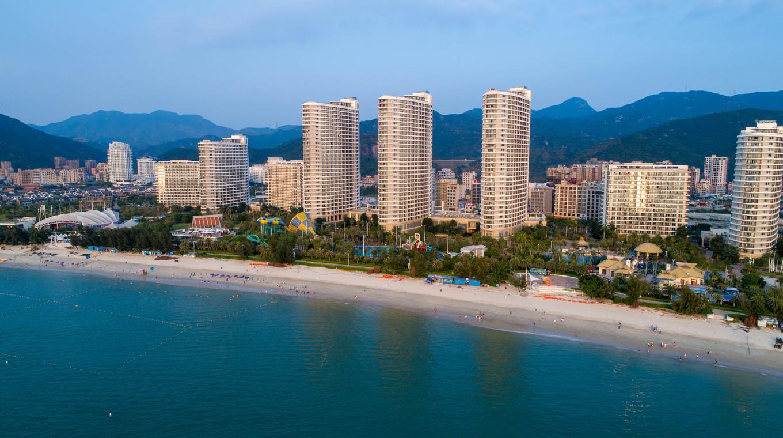 惠州巽寮湾、双月湾、住海公园海景房、虹海湾180度海景房、网红酒店,楼下就是沙滩3日半自助跟团游