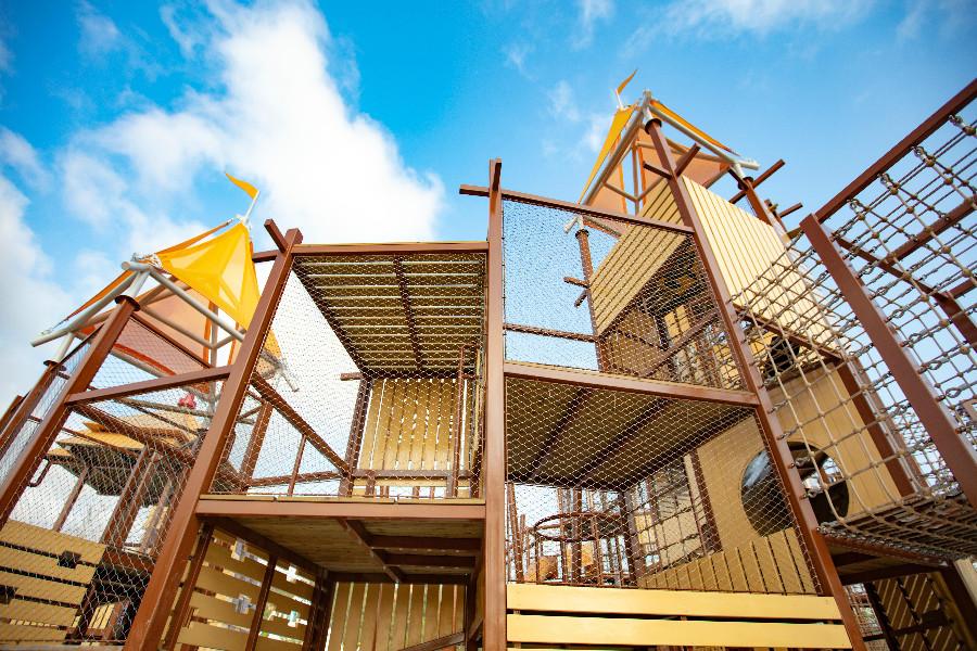 【珠海丨亲子乐园】¥99珠海亲子网红乐园~星乐度·露营小镇,奇趣欢乐~一票玩转星奇塔无动力世界九大主题项目