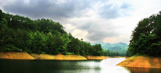 赣州陡水湖风景区