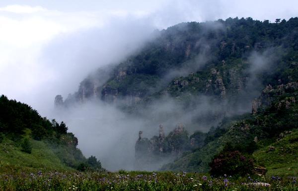 陵川王莽岭景区旅游地图