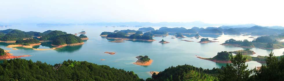 九龙溪漂流:千岛湖九龙溪漂流线路二日游