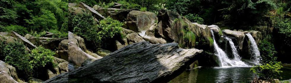 庐山秋色山水,让人心慌的美艳风景