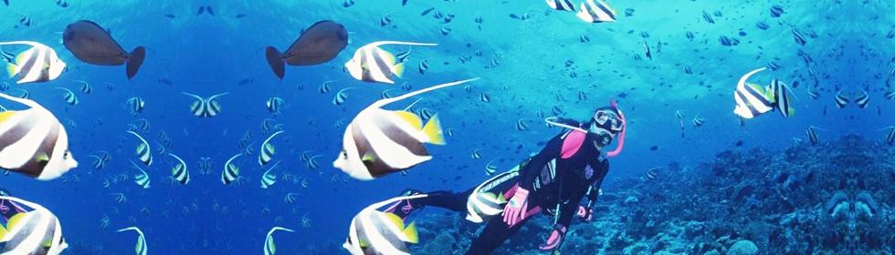海天一色的塞班岛 万种风情