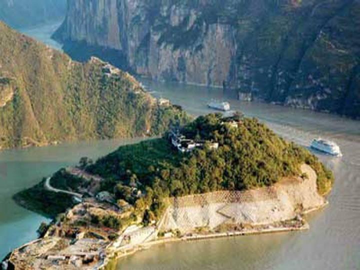 丰都鬼城 长江三峡