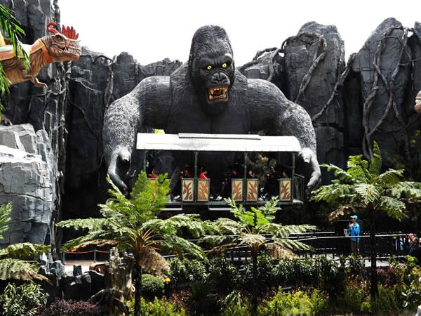 常州恐龙园1日游 南京出发