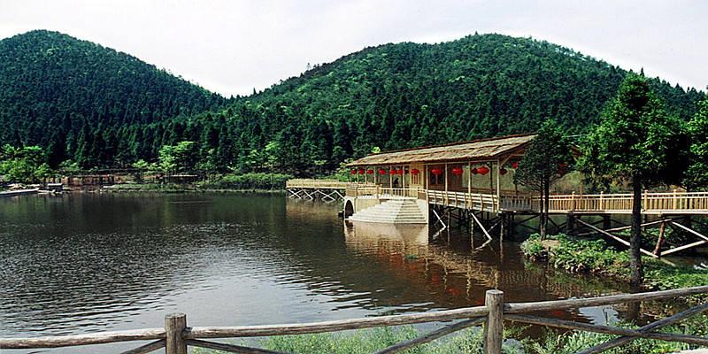 安山森林公园图片