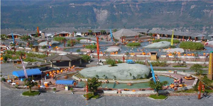西部大峡谷温泉景点介绍