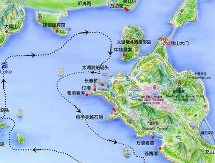 无锡太湖鼋头渚风景区图片