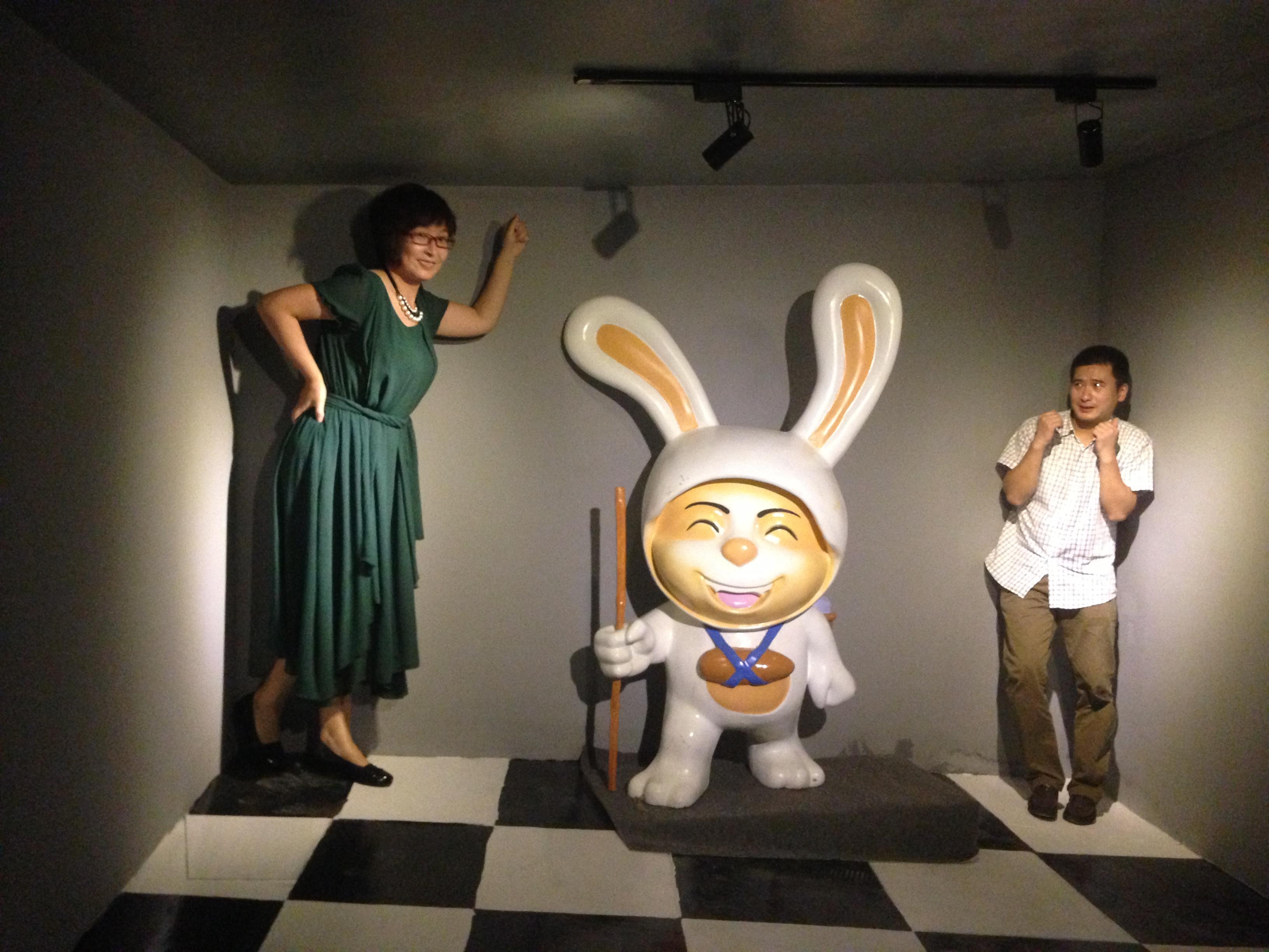 山东乐陵:首家3D魔幻艺术馆正式开馆
