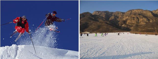 万科石京龙滑雪场石京龙滑雪场场地