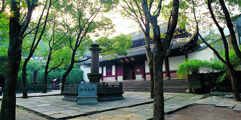 宁波保国寺保国寺古建筑博物馆