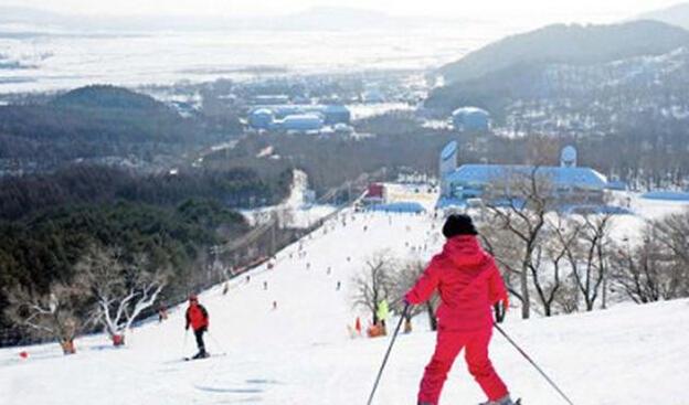 梅花山滑雪场座落在梅花山国家森林公园之中,位于伊春市区东26.