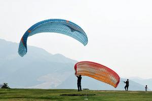 【我要做驴神】我要飞得更高——富阳永安山滑翔伞/西塘自驾游