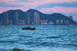 【我要做驴神】中秋美景赏月观海 三亚浪漫全家出游