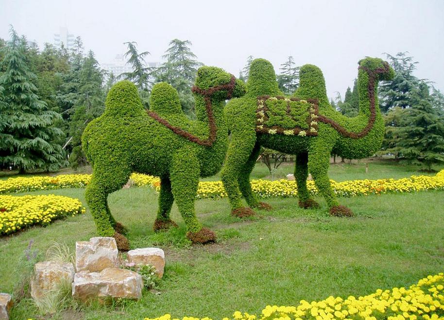 绿色世界浮雕墙