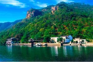 山清水秀桐庐县瑶琳仙境大奇山森林公园
