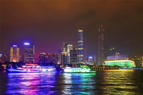 珠江夜游·海心沙码头