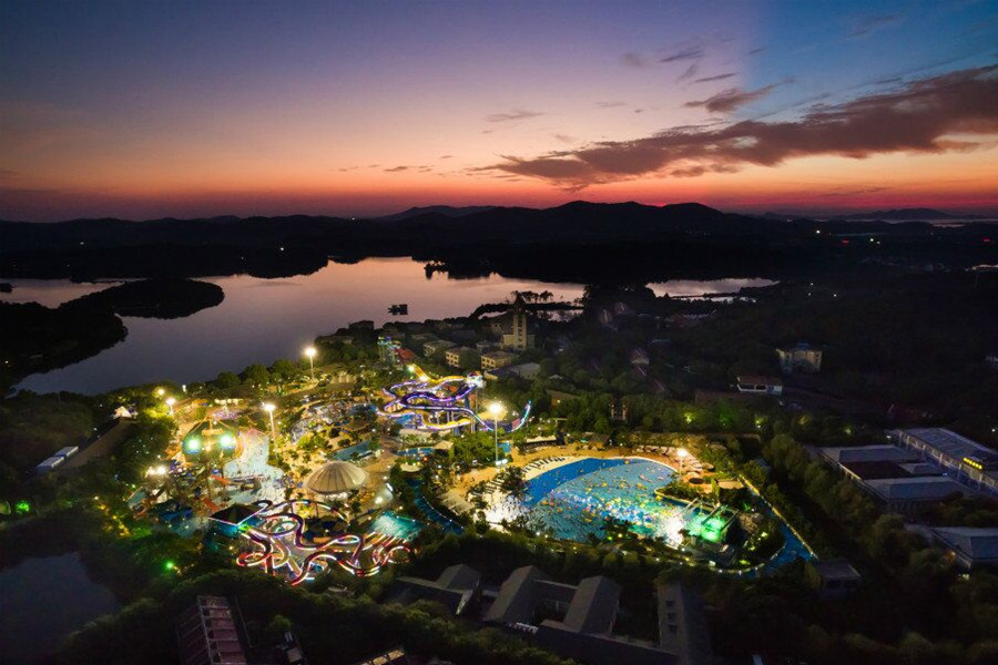 天目湖水世界天目湖水世界一夜公园