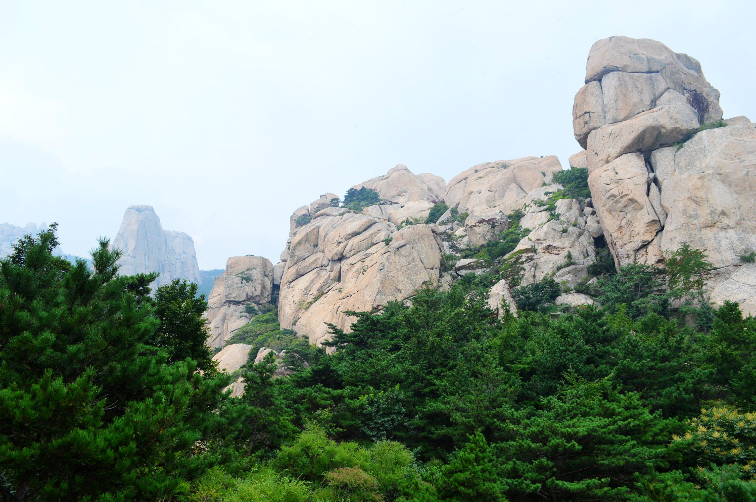 青岛崂山风景区高清图片