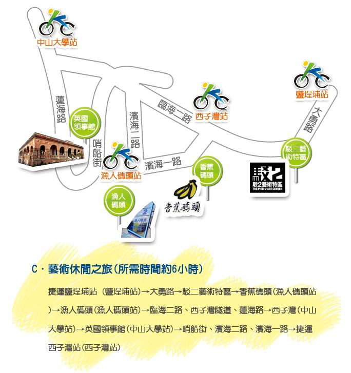 骑行线路3@高雄市政府捷运工程局