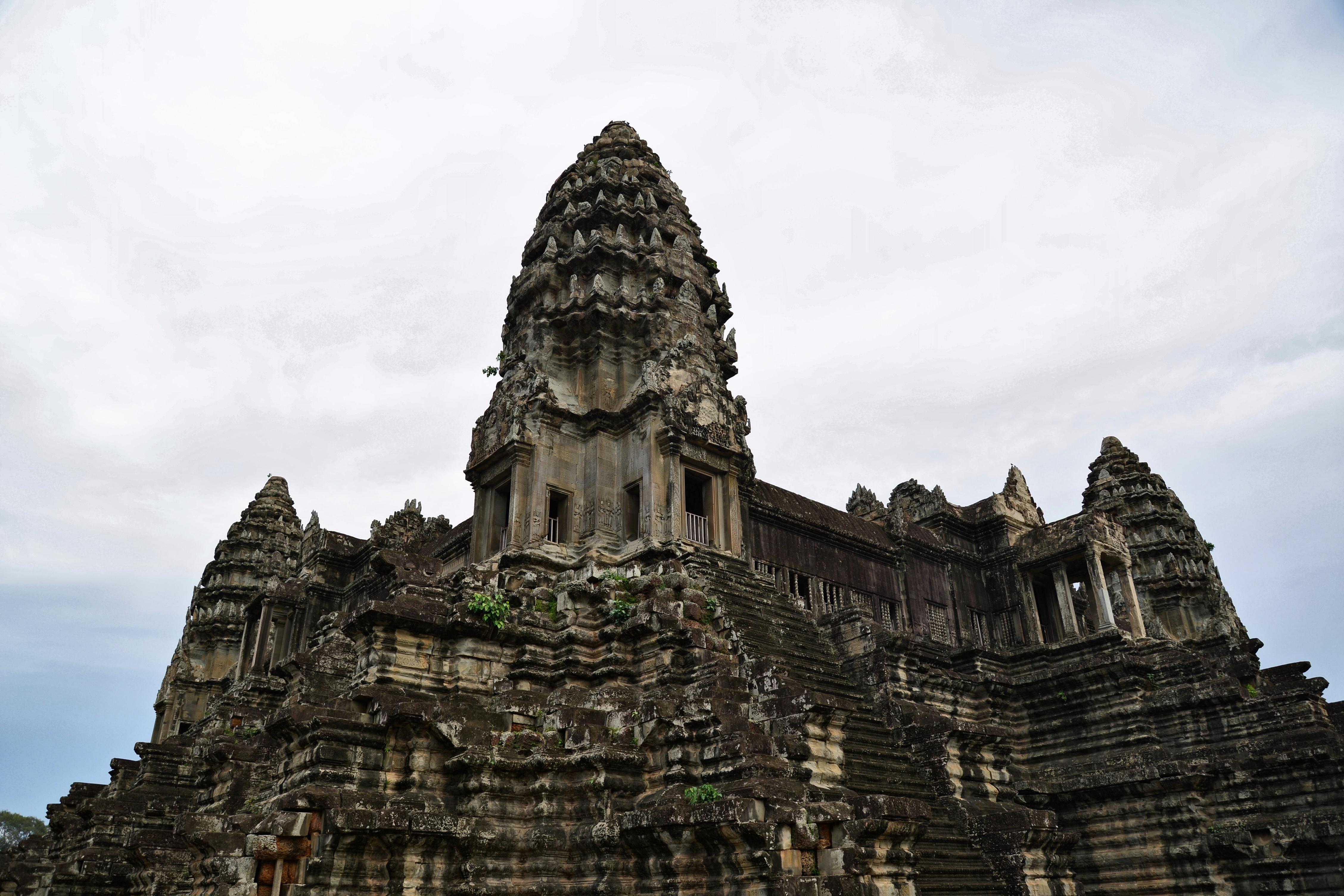 柬埔寨-吴哥寺-韵_evian