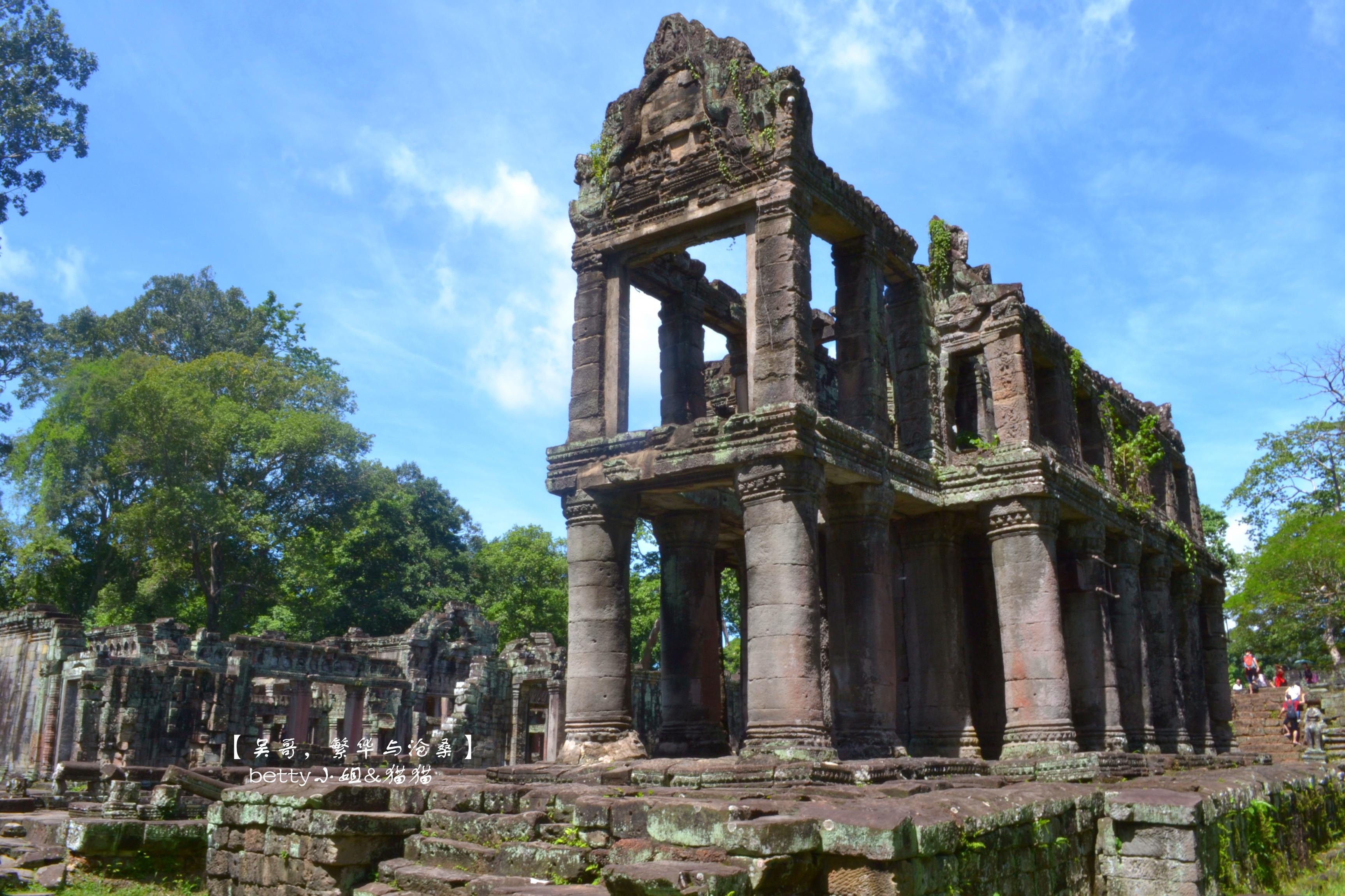 柬埔寨-暹粒-圣剑寺-betty小姐