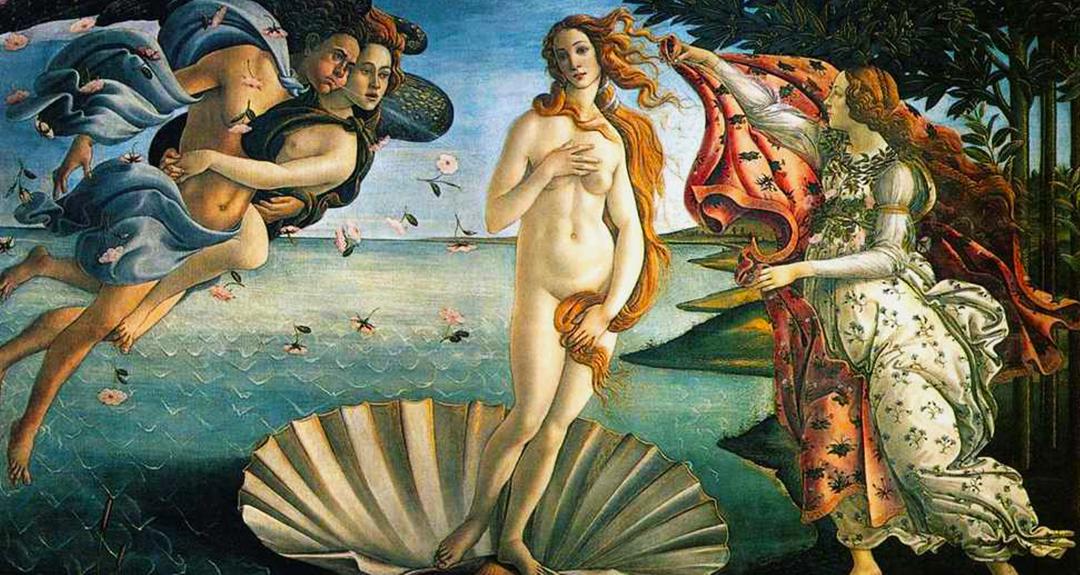 佛罗伦萨乌菲兹美术馆门票名画《维纳斯的诞生》图片