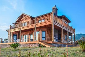 【享泡温泉】[嵊泗]住木屋酒店,去基湖沙滩踏浪,在离岛过慢生活
