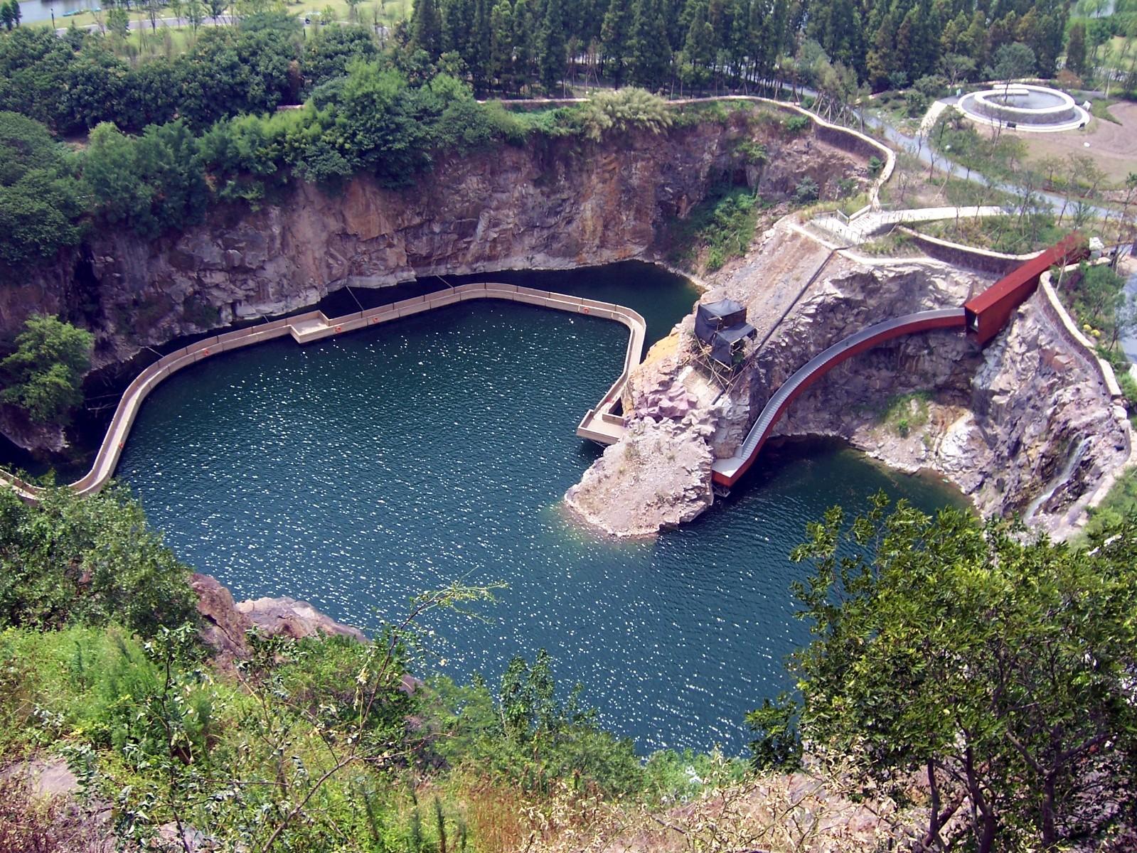 矿坑花园 @上海辰山植物园