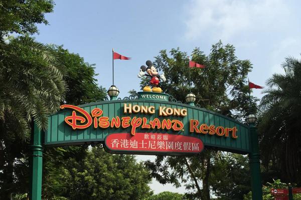 一天玩转香港迪斯尼