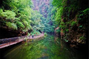 【享泡温泉】单车自驾:青山绿水,京东大峡谷