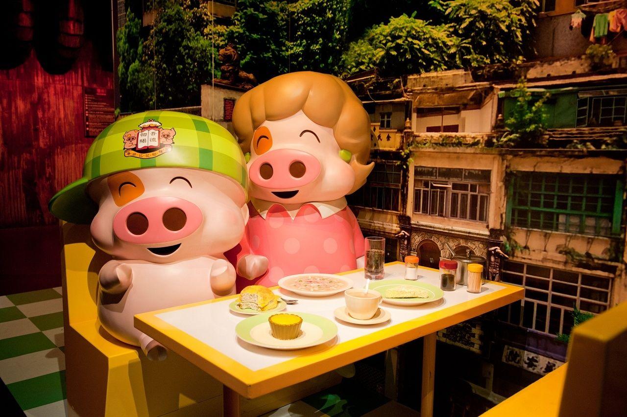 香港-香港杜莎夫人蜡像馆-良人未归旧人不复