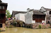 周庄、乌镇双水乡巴士2日跟团游(送双游船体验不同的水乡)