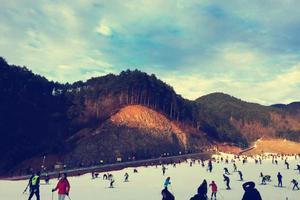冰与火的冬季------记临安#大明山滑雪# #湍口众安氡温泉#一晚两日游 住宿唐昌雅逸酒店